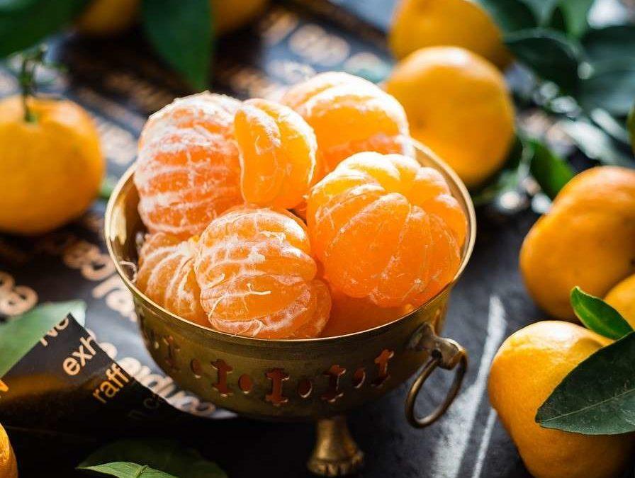 Los beneficios de comer mandarina