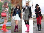 ¡Estilo impecable! 7 looks con botas de lluvia para cada día de la semana