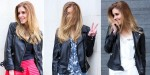 Guía para usar una chamarra de cuero como una fashionista